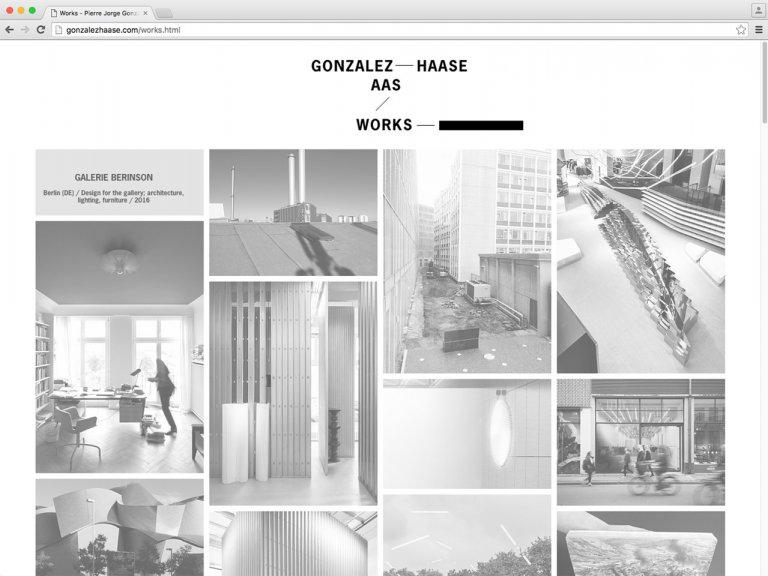 AAS Gonzalez Haase — website