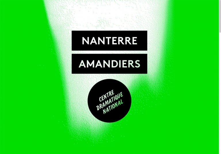 Nanterre-Amandiers — website